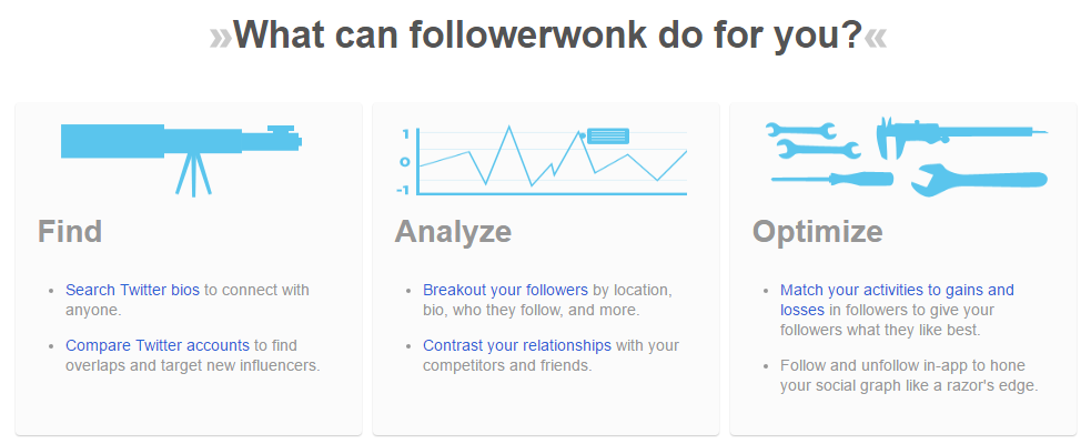 Followerwonk Tools for Twitter Analytics, Bio Search and More