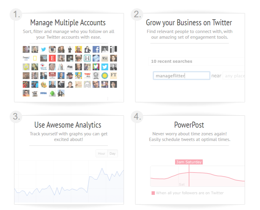ManageFlitter Twitter Marketing