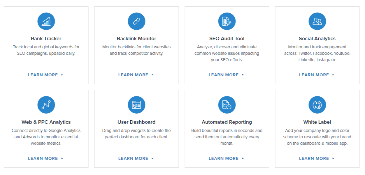 SEO Reporting Software and Marketing Tools for Agencies