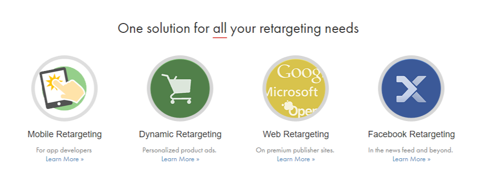 Perfect Audience by Marin Bid Management and retargeting software