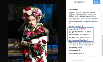 What You Can Learn from Dolce & Gabbana's 5 Instagram Comment Types