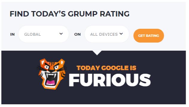 Accuranker Google Grump