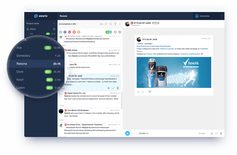 Awario – Usable, real-time social insights.