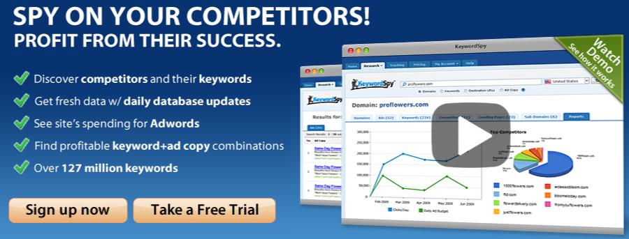 Keyword Spy – Free Keyword Research & Rank Tracking